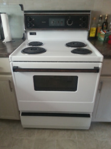 Electric stove and dryer