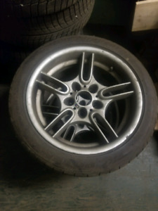 4x Bmw 540 m package rims
