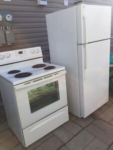 Used Fridge & Stove