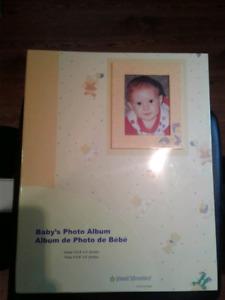 Baby photo album - new