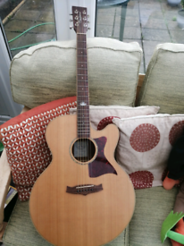 TANGLEWOOD TW155 SS CE electro acoustic guitar