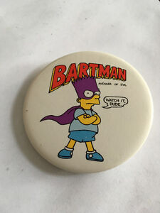 Vintage Bartman Pin (Simpsons)