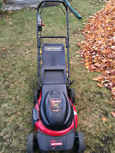 MasterCraft Electric Lawn Mower - FREE!