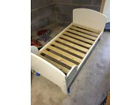 Small child's bed.