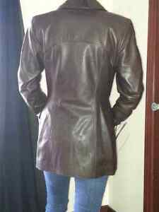 Daniel Leather Jacket Cambridge Kitchener Area image 3