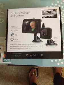 FLUID Baby Car Monitor