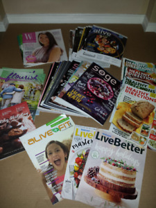 60+ Magazines : Clean, NEW, Smoke Free : Health/Cooking/MORE