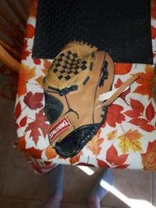 Young baseball gloves