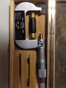 Micrometre micrometer made in swiss tessa !!! Neuff