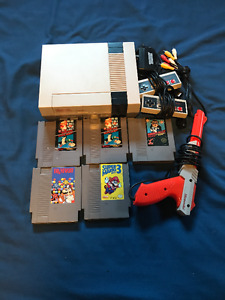 NES + Games + 2 Controllers