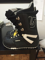 Men's Size 11 Burton Snowboard Boots! They were used twice.
