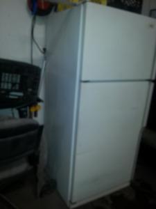 Full size fridge