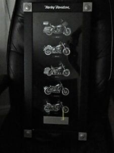 Harley Davidson motorcycle 2007 heritage collection wall art coo