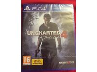 Brand New Sealed Uncharted 4 For PlayStation 4 PS4
