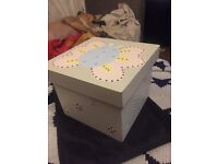 Shabby Girls wooden butterfly bits & bobs box
