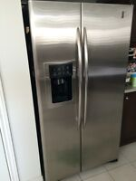 GE Profile Stainless Steel Counter Depth Refrigerator
