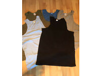Job lot of over 50 NEW men's cotton vests