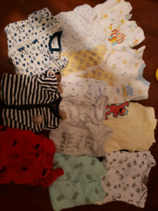 Baby boy clothes and baby items