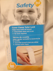 New Safety First Cover Clamp Toilet Lock