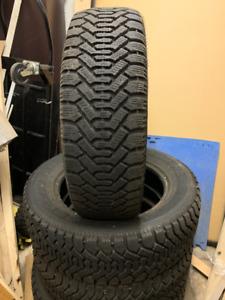 4 Goodyear Nordic Winter tire