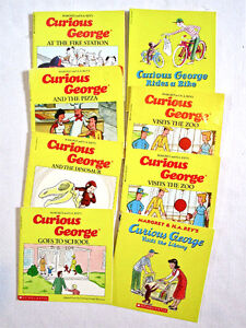 CURIOUS GEORGE - Books, Puzzle Box and Hat Activity Ages 3 & up Windsor Region Ontario image 3