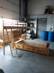 Bunk beds convertible