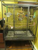 Large Bird Cage On Stand For Sale