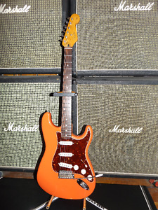 1997 Fender Stratocaster California Series Fiesta Red