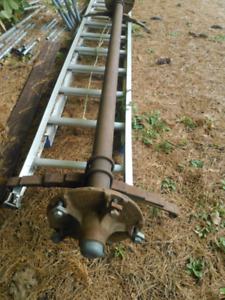 Moblie home trailer axle rims and tires springs