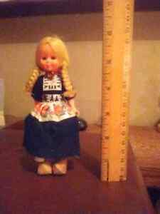 Dutch looking vintage doll $15 Kingston Kingston Area image 2