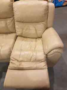 Elran Genuine Leather Reclining Couch  St. John's Newfoundland image 4