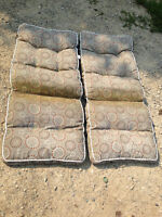 set of two patio cushions
