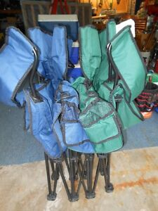 Double wide folding Lawn chair Kitchener / Waterloo Kitchener Area image 5