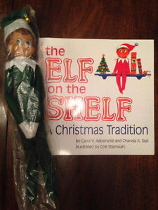 Elf on the shelf with soft cover book St. John's Newfoundland image 2