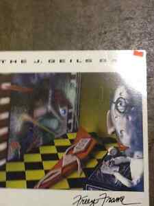 Collectible Vinyl Record THE J GEILS BAND Freeze Frame $10