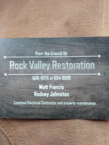Rock Valley Restoration