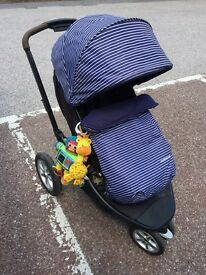 Mothercare Xpedior pram/carrycot/all in one system