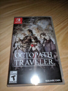 Octopath Traveler - Brand New and Sealed (Nintendo Switch)