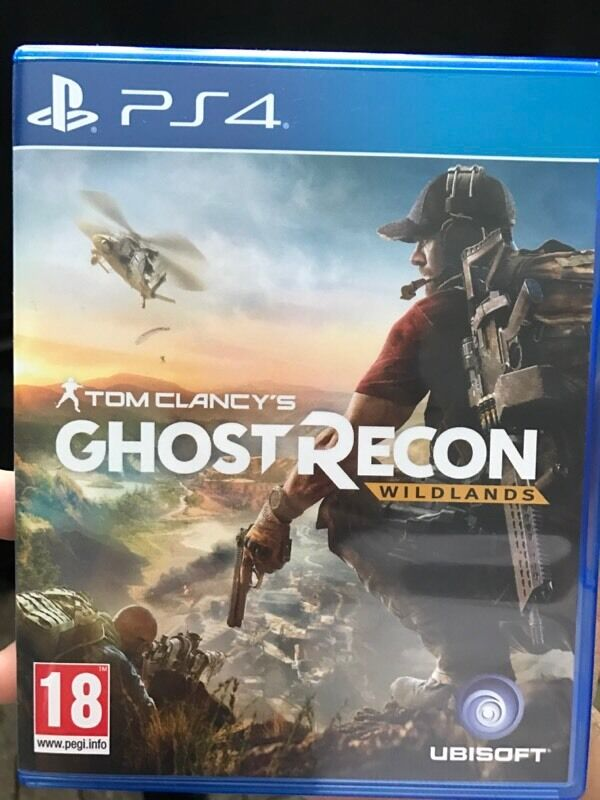 Tom Clancy Games For Ps4 : Tom clancy s ghost recon wildlands ps in redhill