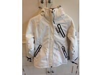White Cobalt Sport ladies size 10 ski jacket