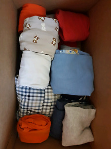 Huge box of 3-6 months boys clothing