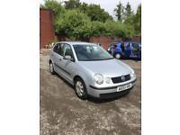 2003 Volkswagen Polo 1.2 ( 55bhp ) E + 67k+new m.o.t + golf+ fox + 5 dr