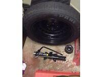 Pirelli spare wheel tyre size T125/85R16 99M 5 stud