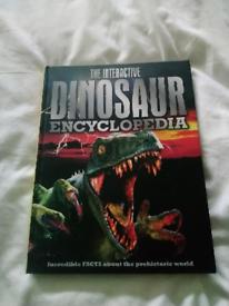 Dinosaur encyclopedia book