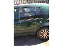 Volkswagen golf mk4 rear passenger door