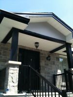 Eavestroughs / Gutters , Downpipes , Soffit , Fascia , Siding