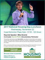 National Housing Day Luncheon Featuring Mike Downie