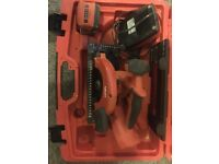 Hilti skill saw charger and battery