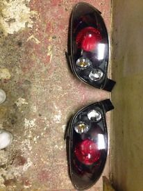 Angel headlights and rear lights all 4