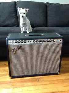 1975 Fender Twin Reverb - New Caps and Blackface Mods
